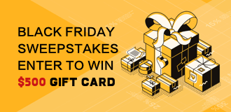 Black Friday Giveaway: Win $500 Gift Card