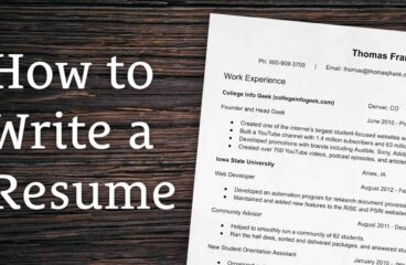 How to write a resume: 10 useful tips to help you find a job with a good salary