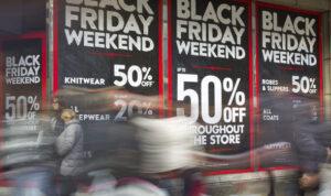 black friday shortage
